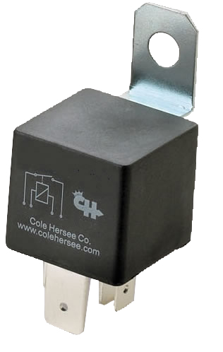 12V/40A Plug-In Relay with Mounting Bracket