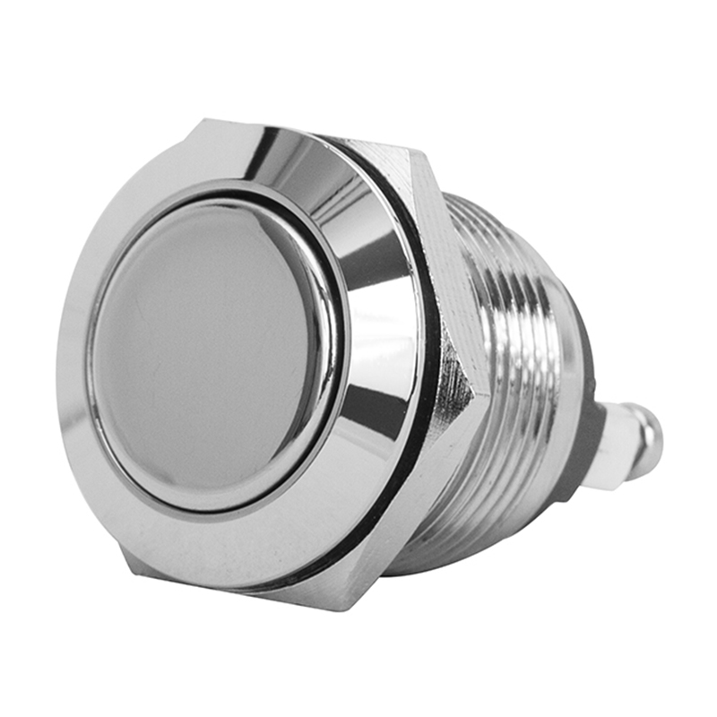 Flat Stainless Steel Push Button